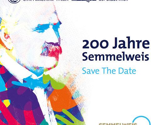 Save the Date: 200 Jahre Semmelweis Fachsymposium, 21.Juni 2018, Wien