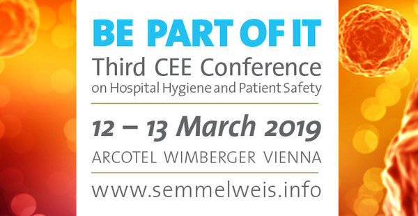 3.CEE Hospital Hygiene and Patient Safety Conference 2019